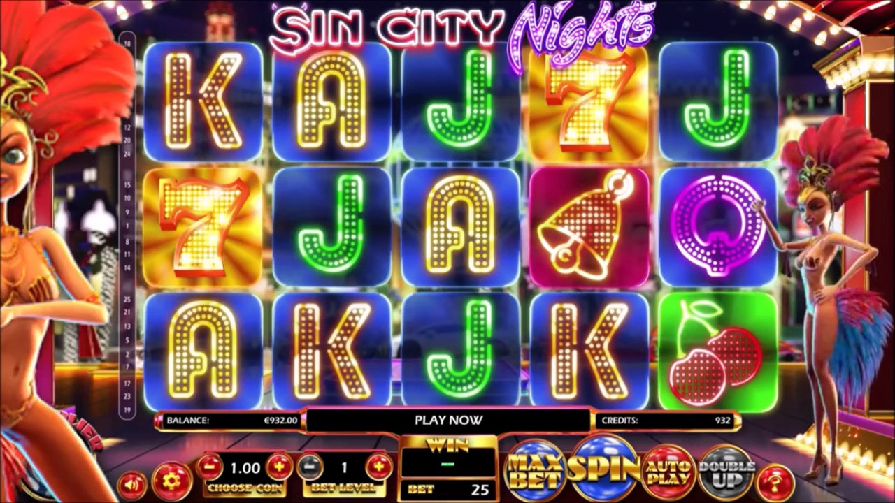 Image result for Sin City Nights Slot Game