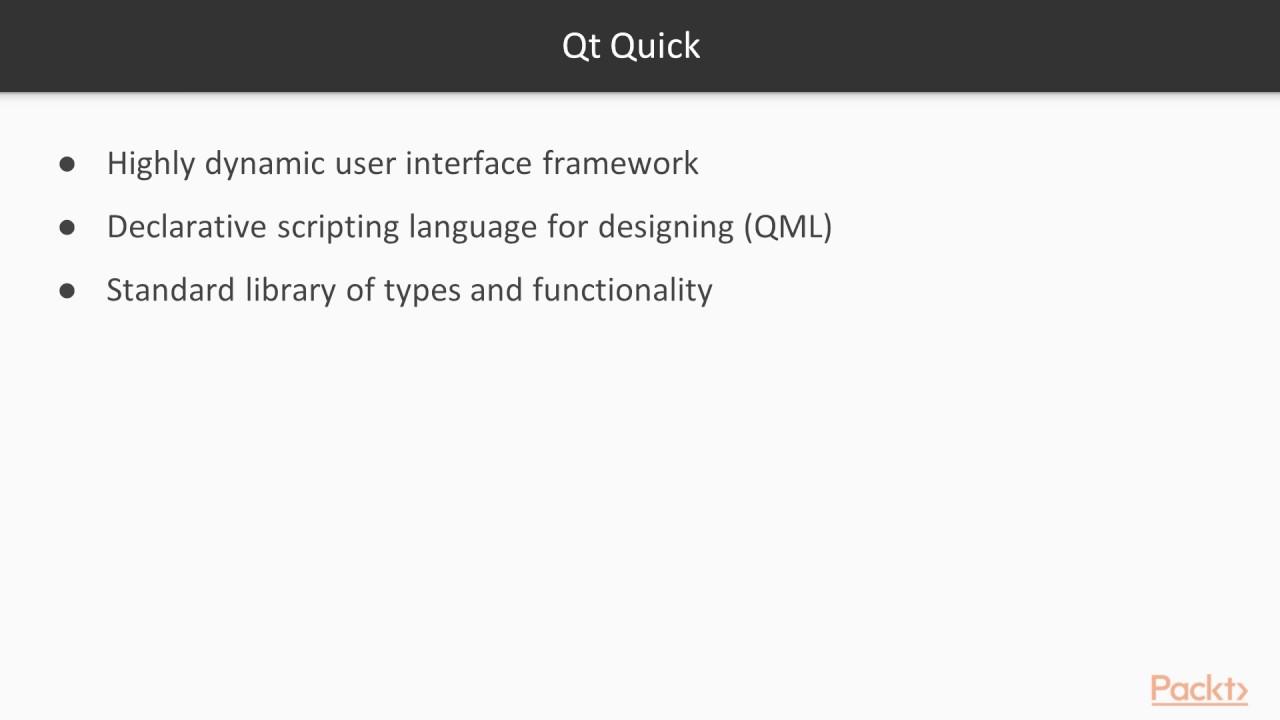 Learning Qt 5 : Introduction to Qt Quick and QML | packtpub com