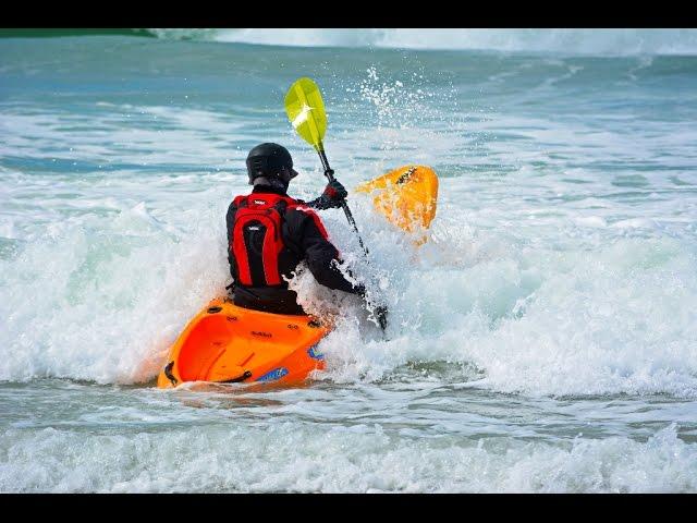Test paddle Viking Kayaks  Replay & Profish GT
