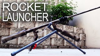 Repeat youtube video Powerful Handheld Rocket Rifle (AK-47 style)