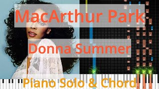 🎹Solo & Chord, MacArthur Park, Donna Summer, Synthesia Piano