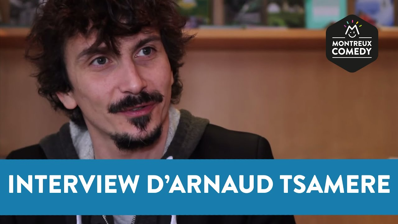 """Arnaud Tsamere"" :  Interview Montreux Comedy"