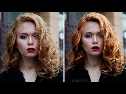 Add Shine, Color & Volume to Hair in Photoshop
