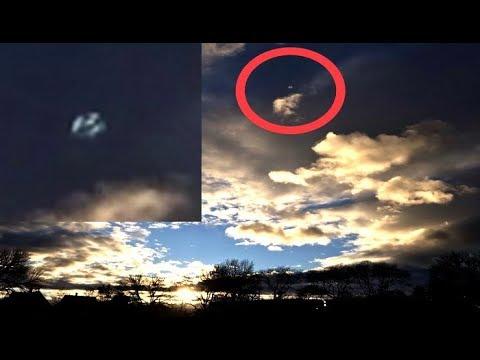 Sorprendentes fotografías de un OVNI captadas en Connecticut