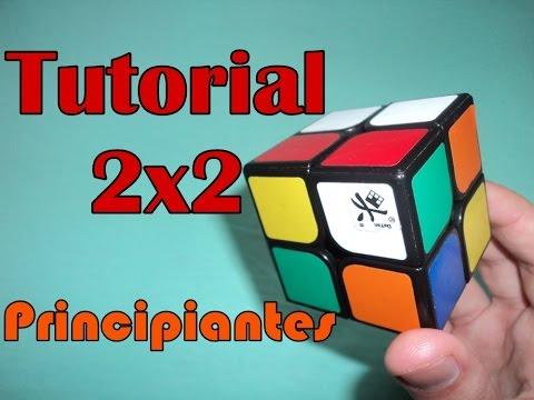 TUTORIAL Resolver cubo de Rubik 2x2 con algoritmos de 3x3 PRINCIPIANTES | ESPAÑOL | MUY FÁCIL