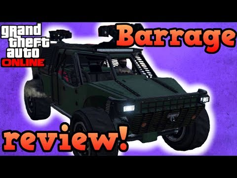 Barrage review! - GTA Online guides