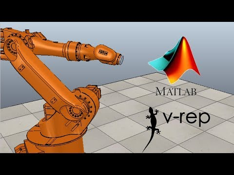 Click to Watch > v-rep matlab client , and animation of