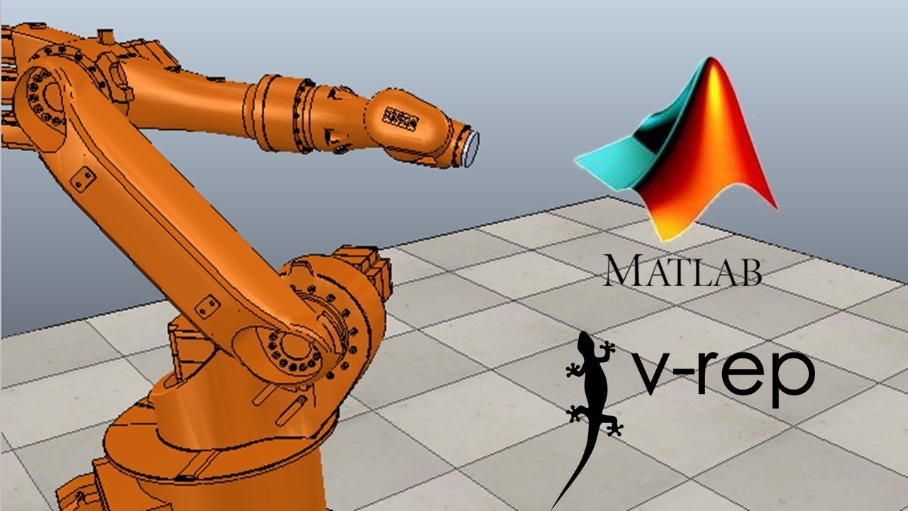 v-rep matlab client , and animation of robot joints