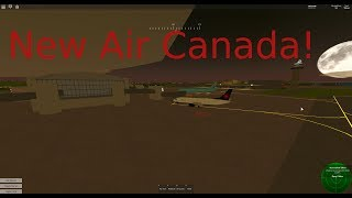 NEW Airline Air Canada in Pilot training Flight Simulator | ROBLOX