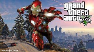 GTA 5 IRON MAN MOD PC - Los Santos im coming!!