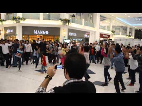 Flashmob @ LandMark mall, Doha - Qatar