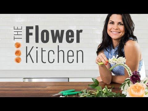 Flower Arranging Tutorial with Celebrity Florist Carly Cylinder