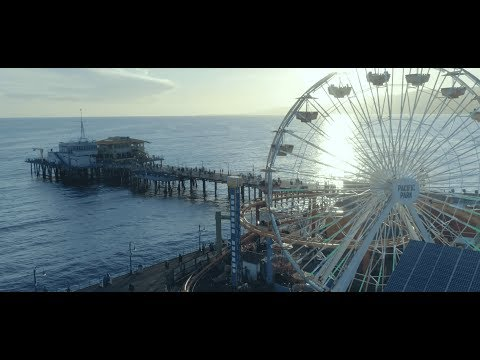 Los Angeles 4K drone video (incredible footage!) - La La Land