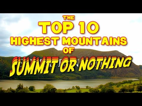 Our Top 10 Highest UK Mountain Summits So Far