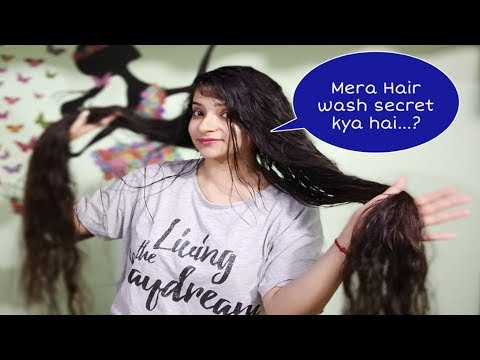 How I Wash My Long Hair | Forward Hair Washing Method | Admire Beauty