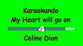 Karaoke Internazionale - My heart will Go on - Celine Dion ( Lyrics )