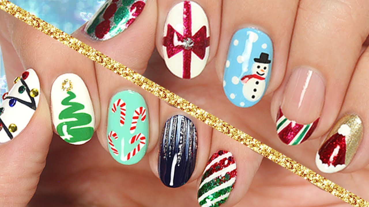 10 easy nail art designs for christmas the ultimate guide 2017 10 easy nail art designs for christmas the ultimate guide 2017 prinsesfo Image collections