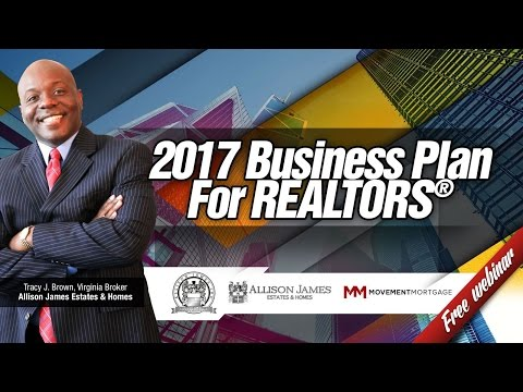 2017 BUSINESS PLAN FOR SALES SUCCESS for REALTORS® With TRACY BROWN