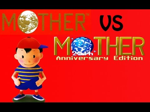 Mother Original vs Mother 25th Anniversary edition