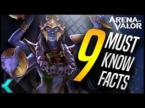 Top 9 AMAZING FACTS about Arena of Valor