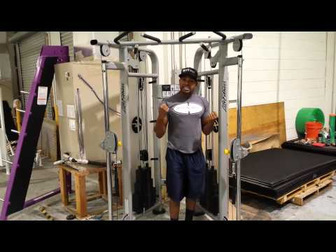 Life Fitness Dual Adjustable Pulley Cable Crossover / Functional Trainer