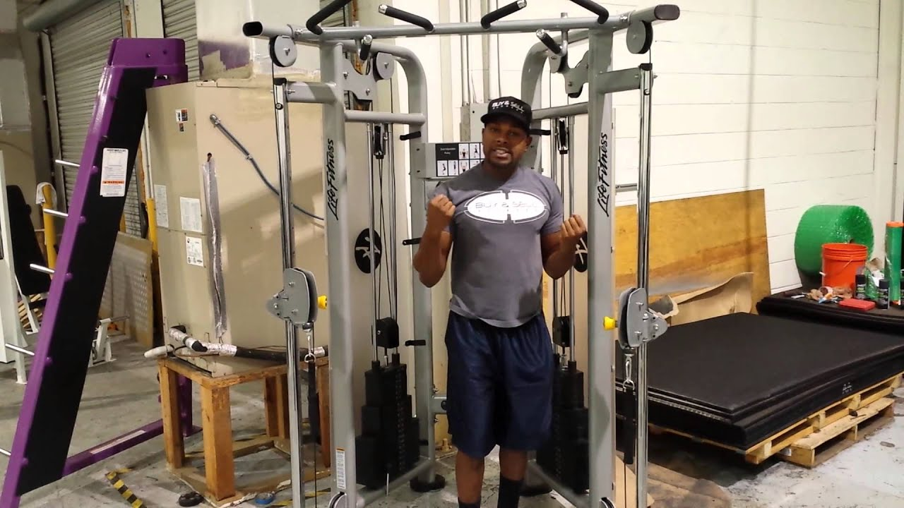 Life Fitness Dual Adjustable Pulley Cable Crossover