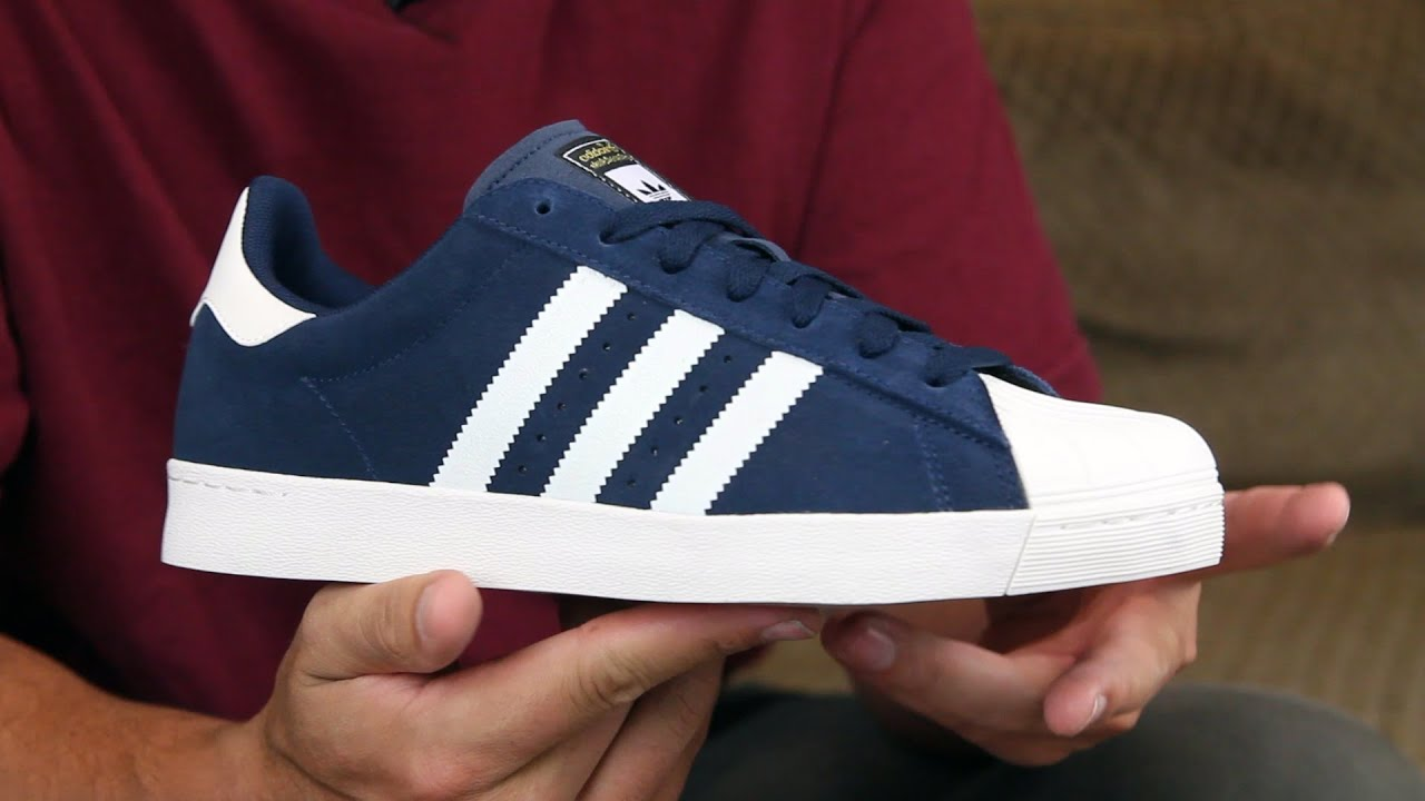 Adidas superstar adv skate shoe review (skated)