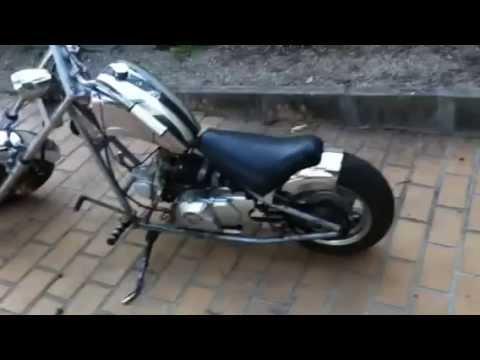 Loncin Mini Chopper 50cc - YouTube