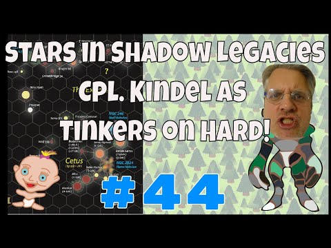 Stars in shadow legacies #44 Tinkers, hard; SIS is a 4x strategy game similar to Distant Worlds