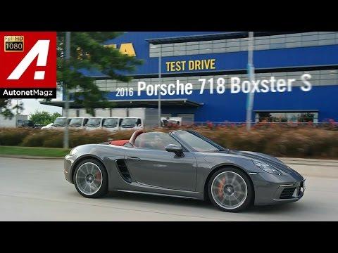 Review Porsche 718 Boxster S and test drive by AutonetMagz