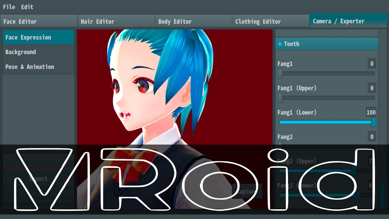 Vroid Studio Free 3d Anime Style Character Creator Youtube