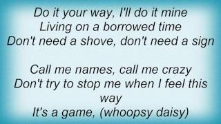 Ac Dc - Borrowed Time Lyrics