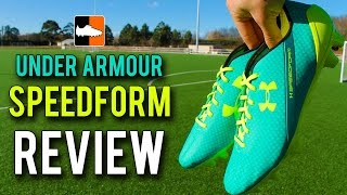Under Armour SpeedForm Review - New Speed Football Boot Range