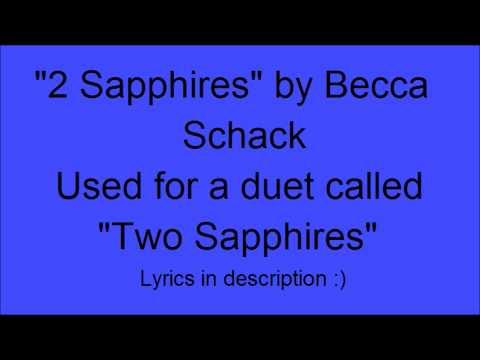 Two Sapphires- From Dance Moms Music + Lyrics