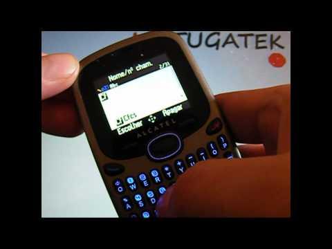 Alcatel OT255 análise ( ot-255 ot 255 review )