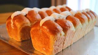 (no-knead Butter Cream Bread)무…