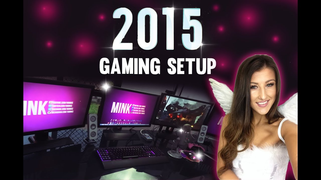 Gaming/Streaming Setup 2015 incl. tips and advice! - YouTube