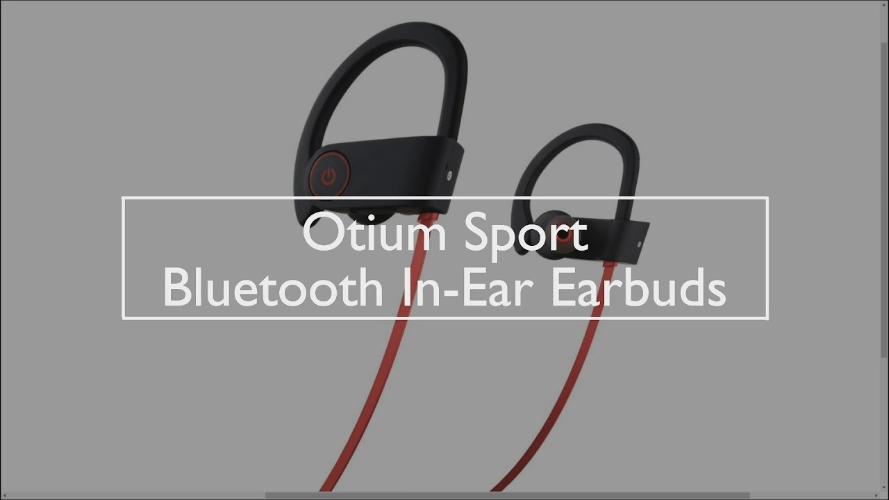 dc0647f744f Otium Bluetooth Wireless Headphone Earbuds - YouTube