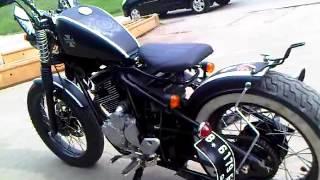 Yamaha Scorpio 225 Cc Bobber By Voad Abah Motor Custom Jakarta Indonesia Youtube