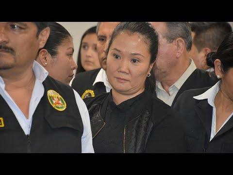 Keiko Fujimori vuelve a la cárcel