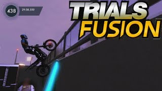 "Trials Fusion EXTREME Tracks PS4 Gameplay ""Master"