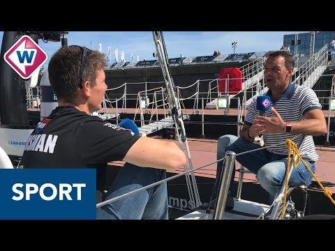 Volvo Ocean Race-zeiler Huisman: 'Had het gevoel dat ik langzaam gek werd' - OMROEP WEST SPORT
