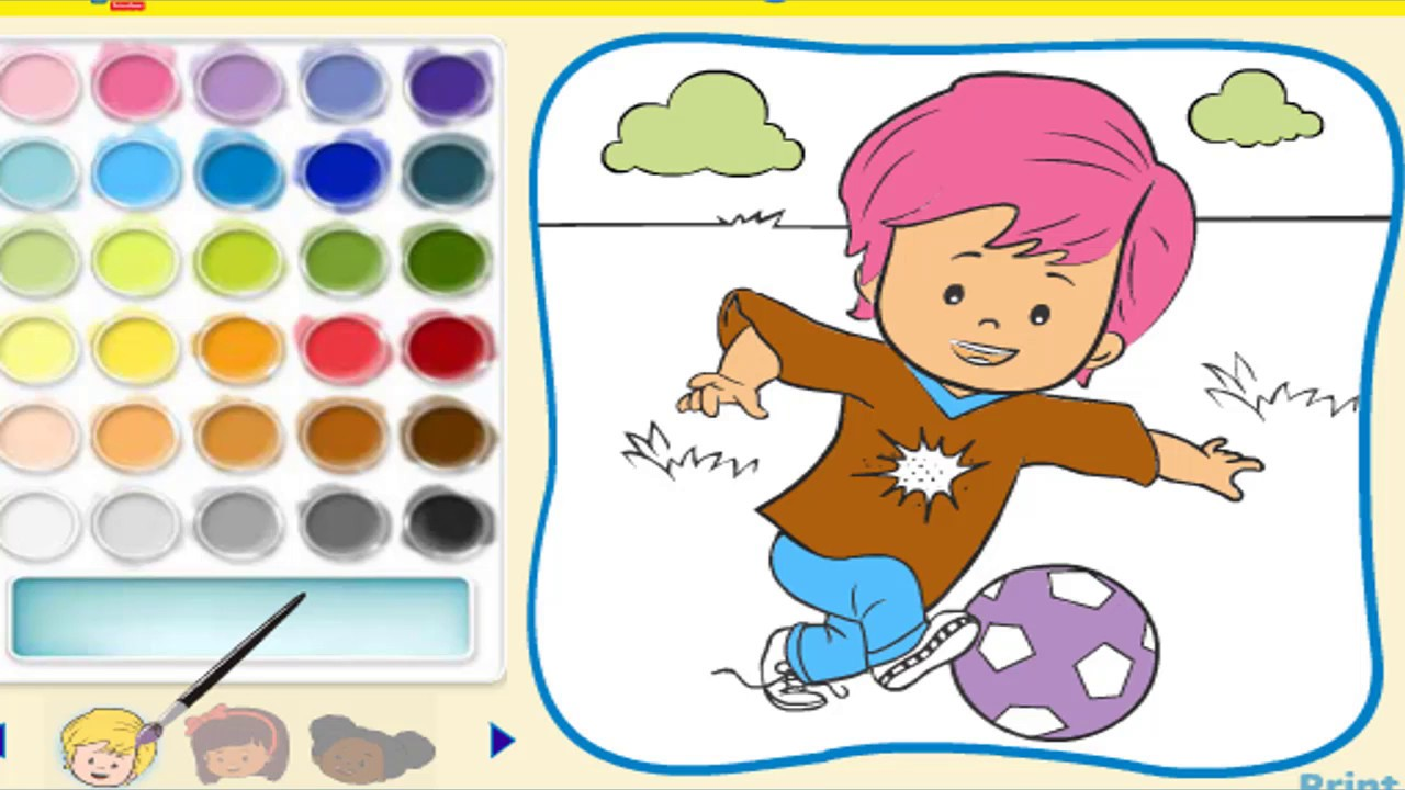 Online Coloring Games For Kids