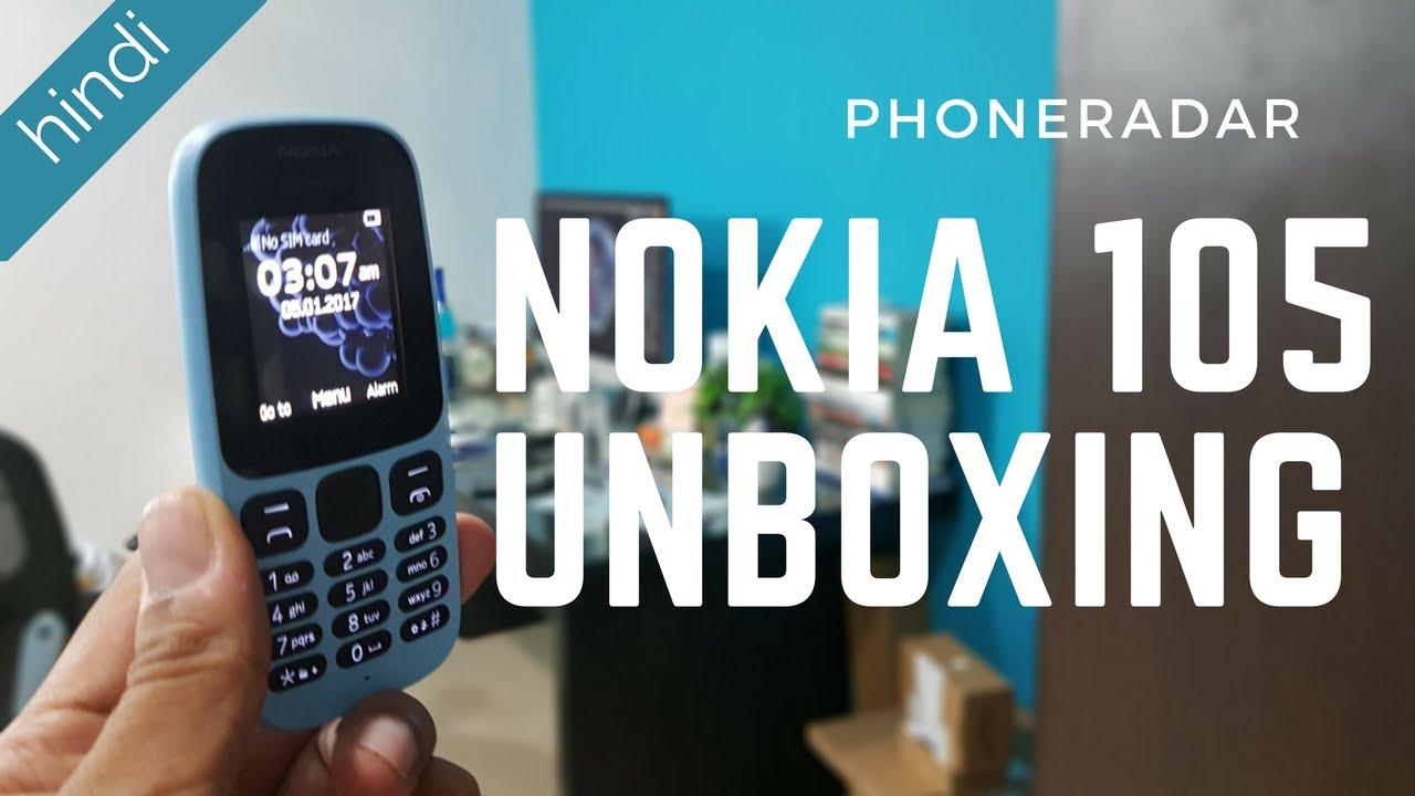 Nokia 105 (2017) Unboxing