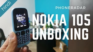 Nokia 105 (2017) Unboxing - Nokia's Answer to JioPhone?
