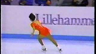 Yuka Sato (Jap) 1994 Lillehammer Olympic Technical Program