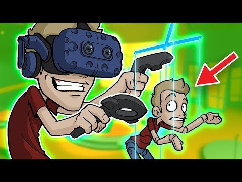 ANIMATING MYSELF in VR!? - Filming in Flipside (Mixed Reality Video)