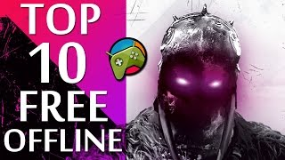 Top 10 Best OFFLINE Free Android Games HD (No Internet)