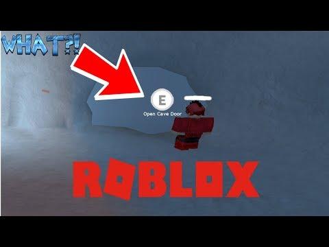 GOING INSIDE THE SECRET ICE DOOR!!! (Roblox Jailbreak)