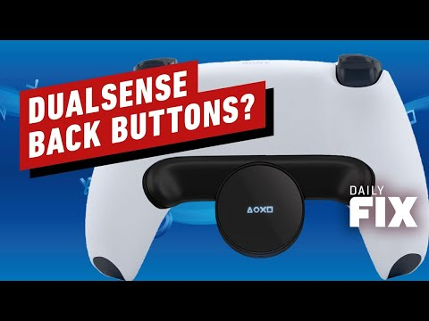 Is The PS5 Controller Getting Back Buttons? - IGN Daily Fix
